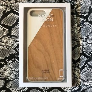 Native Union Clic Wooden iPhone 7 Plus & 8 Plus